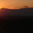 2006秋 富士 夕陽