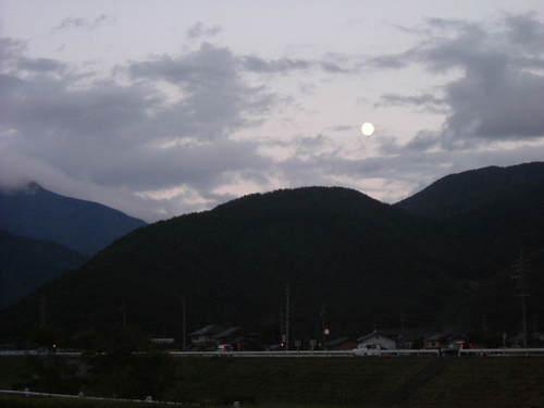2007秋 中秋の名月
